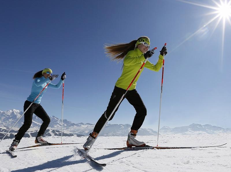 Décompresser, contempler, s'évader… un sentiment de liberté plane sur ces activités, par ailleurs moins accidentogènes que « l'alpin » - DR : Nordic France