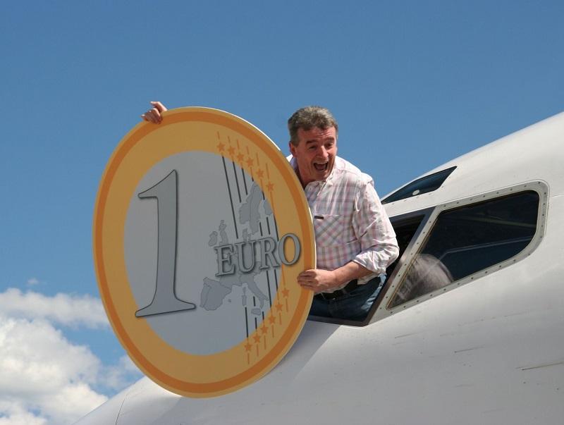 Michael O'Leary, patron de Ryanair, annonçait vouloir devenir le « Amazon du voyage aérien ». Ben le Amazon irlandais aura vite fait long feu… - DR : JDL