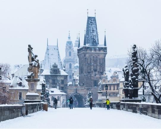 Prague est l'une des destinations proposées par Un Monde à Part dans le cadre de sa sléections de week-ends groupes pour Noël 2017 - Photo : Un Monde à Part