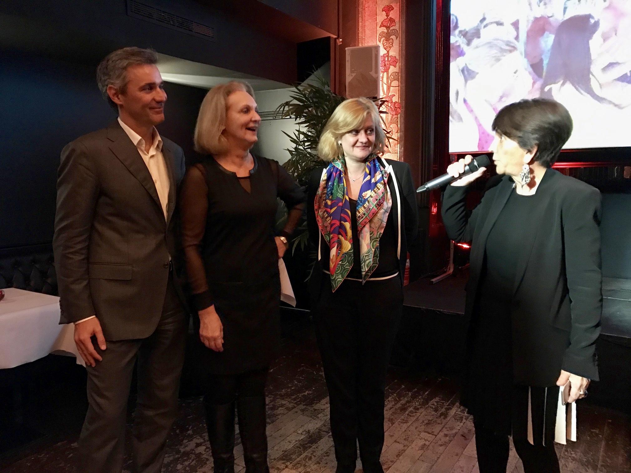 Adriana Minchella remercie l'équipe de Fram et celle de Promovac pour l'organisation du Congrès à Cuba - Photo : J.D.L.