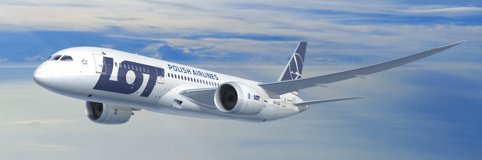 LOT Polish Airlines va relier Astana à Varsovie 4 fois par semaine pendant l'été 2017 - Photo : LOT Polish Airlines