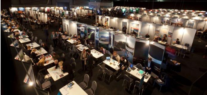 Le salon professionnel Icelandair Mid-Atlantic se tenait en Islande du 26 au 29 janvier 2017 - Photo : Icelandair