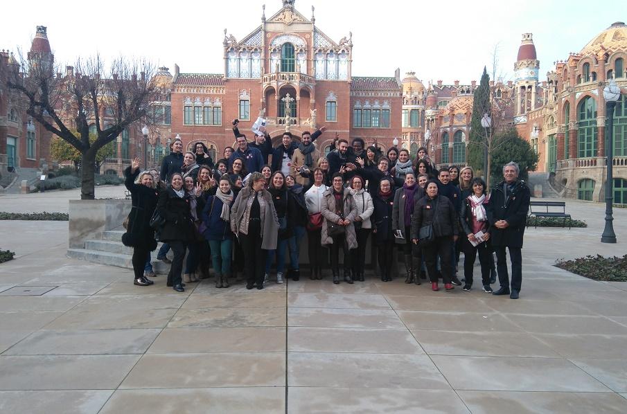 La photo de groupe des participants à l'éductour - Photo : DR