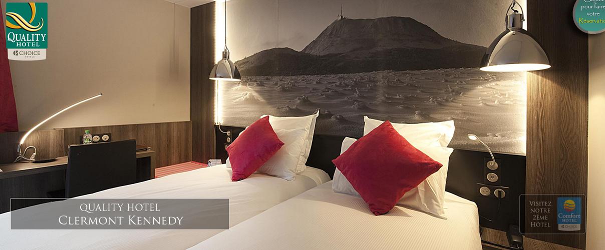 Le Quality Clermont Kennedy compte 55 chambres à 5 km de l'aéroport - Photo : Choice Hotels Europe
