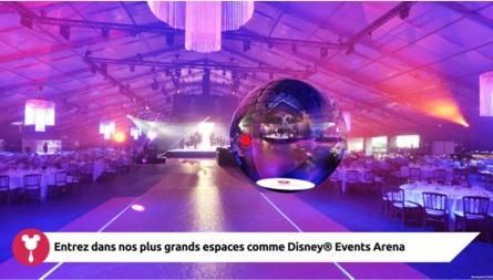 Disney Business Solutions propose une visite virtuelle à 360° de ses hôtels, centres de convention et espaces professionnels - DR Disney