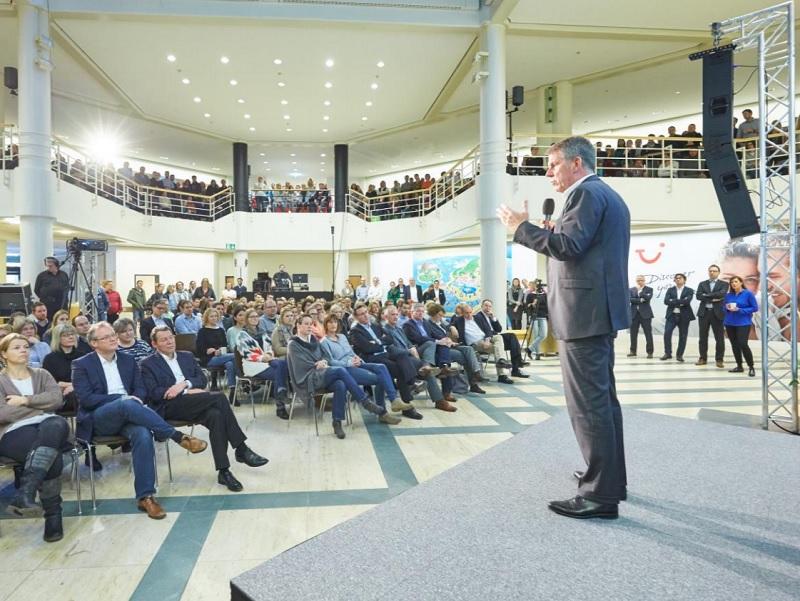 Lors de l'assemblée générale des actionnaires, en Allemagne, le groupe TUI a donné quelques indications sur la stratégie adoptée pour la période 2017/2022 - DR : TUI Group