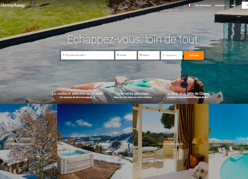Location entre particuliers expedia mise gros sur homeaway for Location materiel jardinage entre particulier
