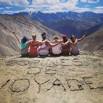 Un trek en Himalaya, organisé en 2016. © DR : Copines de voyage