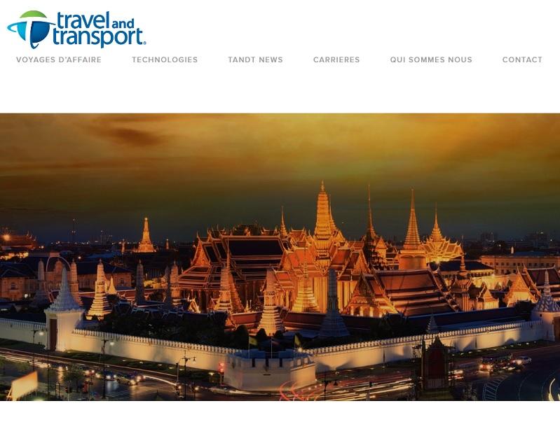 Travel And Transport veut amener du service et de la technologie à ses clients. Toutes les solutions sont développées en interne - DR : Travel And Transport