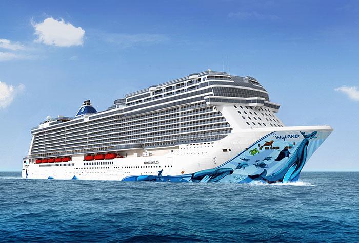 Norwegian Bliss Breakaway Plus Class de la compagnie Norwegian Cruise Line - Photo NCL