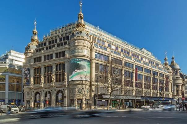 La façade de la Rotonde Tronchet à Paris - DR
