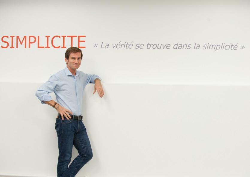 Nicolas Brumelot, co-fondateur et président de MisterFly/ @misterfly