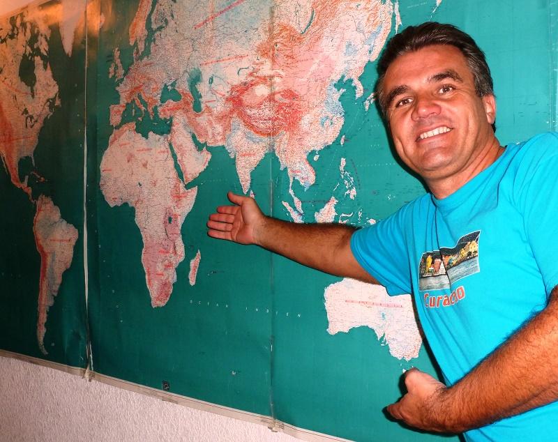 En 30 ans de voyage, Philippe Mélul a visité tous les pays du globe - DR : Philippe Mélul