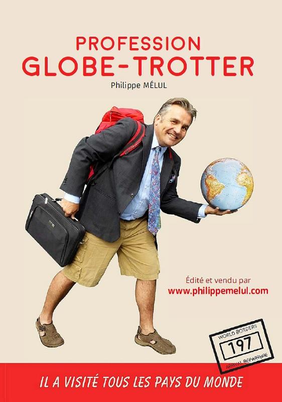 Philippe Mélul présente son 2e livre, Profession Globe Trotter, sur les salons du tourisme et dans les agences de voyages - DR : P. Mélul