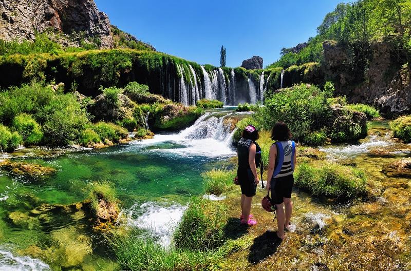 La rivière Zrmanja près de Zadar. Photo : ONT Croatie – Aleksandar Gospic.