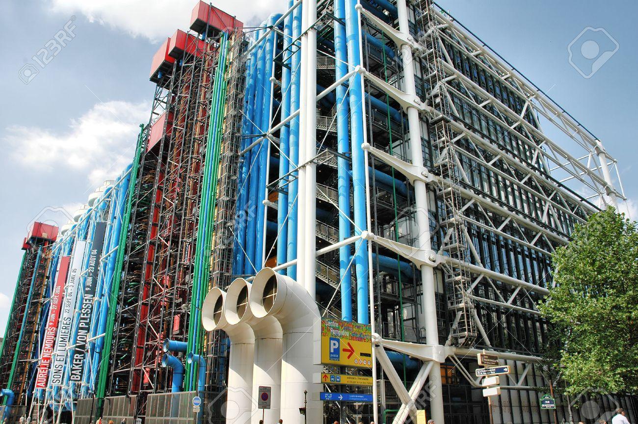 Le Centre Pompidou, un des rares sites  à avoir enregistré une progression de ses entrées en 2016. Photo LD.