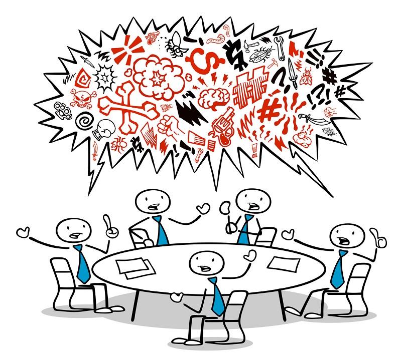 La CGT, en cette première séance a quitté la séance et n'entend pas participer à la prochaine… © Robert Kneschke - Fotolia.com
