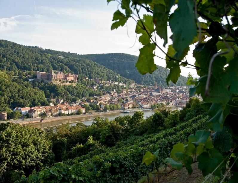 Le château de Heidelberg, considéré comme l'une des plus belles villes d'Allemagne - Photo Siehe Bildquelle, ONAT