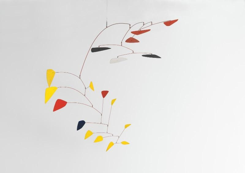 Mobile sur deux plans,1962 Calder Alexander (1898-1976) © 2017 Calder Foundation, New York / ADAGP, Paris Musée National d'art moderne, Centre Pompidou, Paris – AM1514S Photo © Centre Pompidou, MNAM-CCI, Dist.RMN-Grand Palais / Philippe Migeat