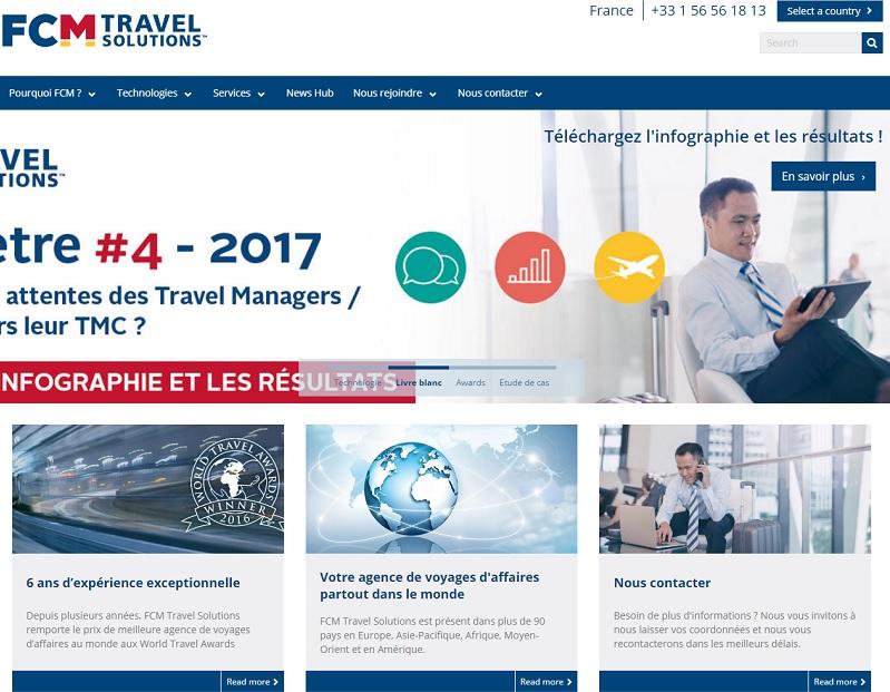 FCM France recrute actuellement une trentaine de personnes, plutôt expérimentées et polyvalentes, pour des postes de consultants - DR : FCM Travel Solutions France