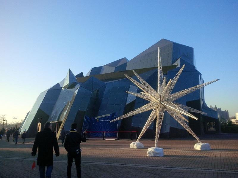 Le Futuroscope, un parc dédié aux nouvelles trechnologies - DR : Aurélie Resch