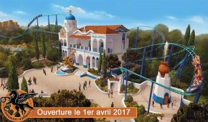 La nouvelle attraction Pegase - DR : Parc Astérix