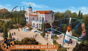 La nouvelle attraction Pegase - DR : Parc Astérix
