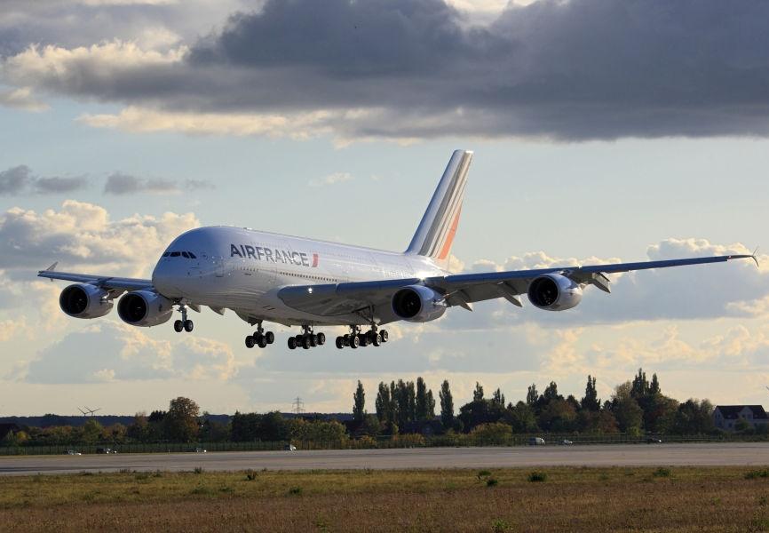 Le trafic d'Air France pourrait être perturbé par une grève le 7 mars 2017 - Photo : Air France