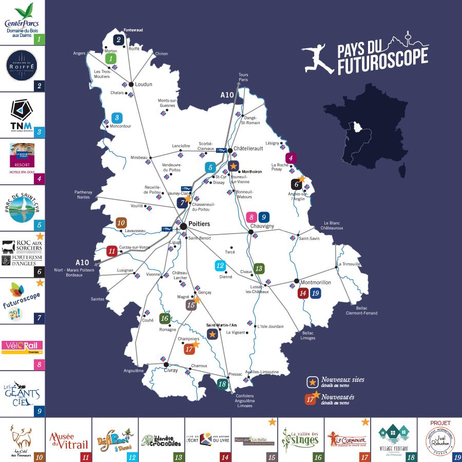 La Vienne, le pays du Futuroscope : une destination à part entière !