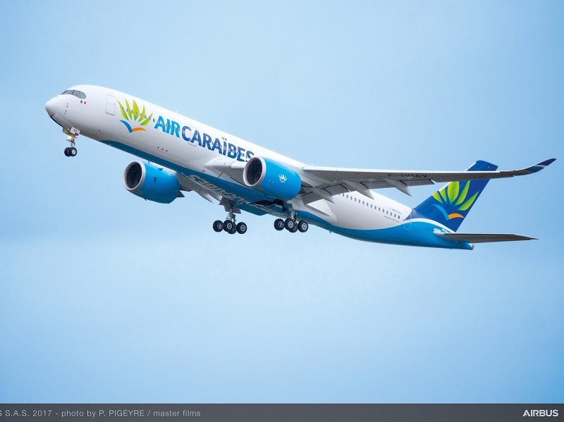Air Caraïbes prend livraison de son premier Airbus A350 XWB