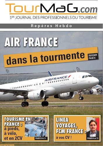 Cliquez sur la couverture du 6e numéro de Repères Hebdo pour vous abonner - DR : TourMaG.com