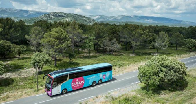 OuiBus étend son réseau en France et en Europe avec 21 nouvelles destinations à partir d'avril 2017 - Photo : OuiBus