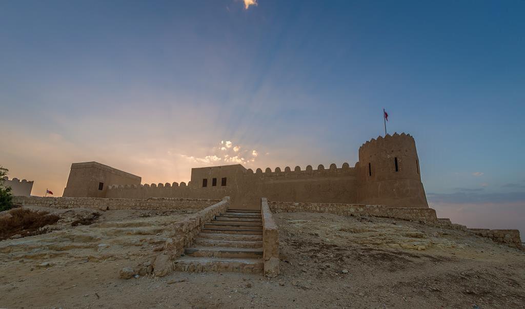 Classé par l'UNESCO au patrimoine mondial, Qalat al Bahrain, un fort portugais construit sur une colline créée par des strates successives d'occupation humaine - Photo : BTEA