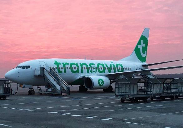 Transavia renforce son programme de vols et son offre de siège au départ de l'aéroport de Nantes pour l'été 2017 - Photo : Transavia/Instagram