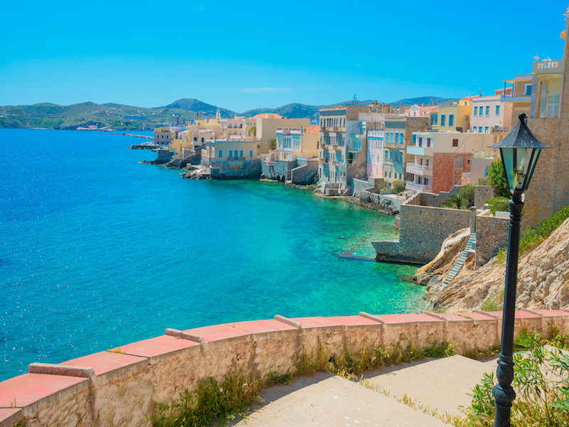 Syros, l'une des nouvelles destinations desservies par Celestyal Cruises © DR Celestyal Cruises