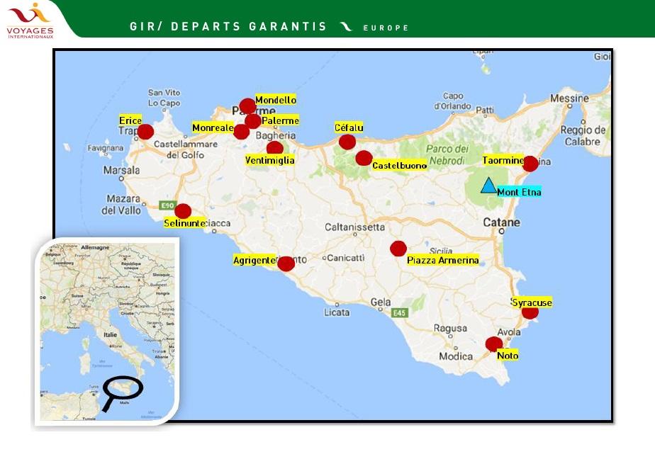 Le Grand tour de Sicile - DR