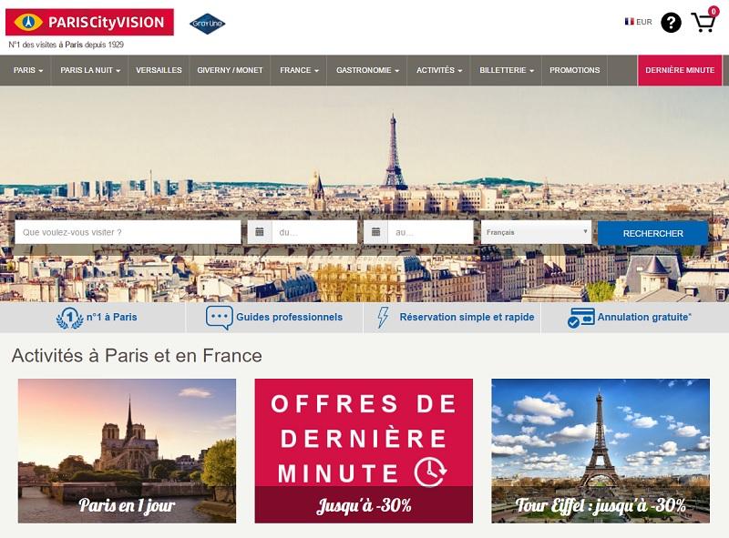 ParisCityVision souhaite revenir en force sur les marchés européens... dont la France - DR : Capture d'écran ParisCityVision