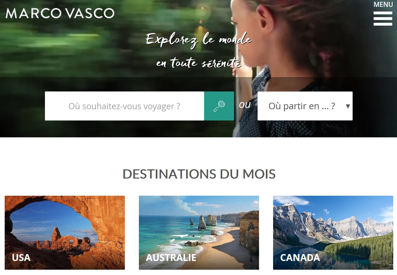 Le site de Marco Vasco - DR