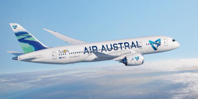 Air Austral ajoute des fréquences le samedi et le dimanche entre CDG et Mayotte pendant l'été 2017 - Photo : Air Austral