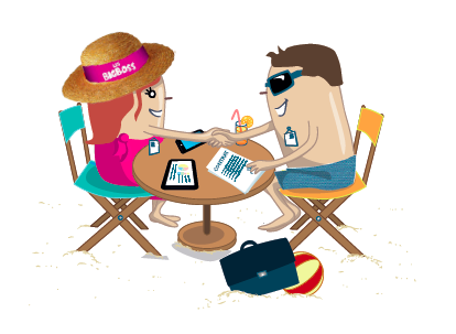 Le « speed dating » met en relation les acteurs de l'industrie du tourisme et les prestataires innovants par affinités business - DR