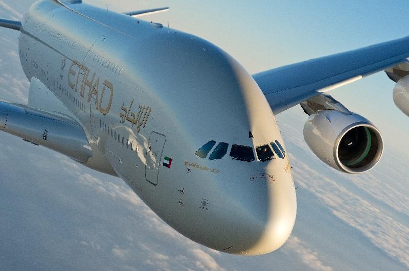 Etihad Airways annonce l'arrivée de son A380 sur la route Abu Dhabi-Paris cet été  - Photo Etihad Airways