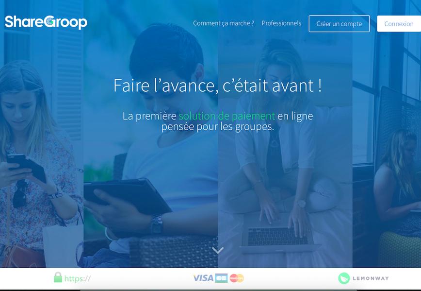 """""""Nous considérons le groupe comme un web-acheteur à part entière et nous développons pour lui une solution de paiement adaptée à ses usages."""" (c) Sharegroop"""