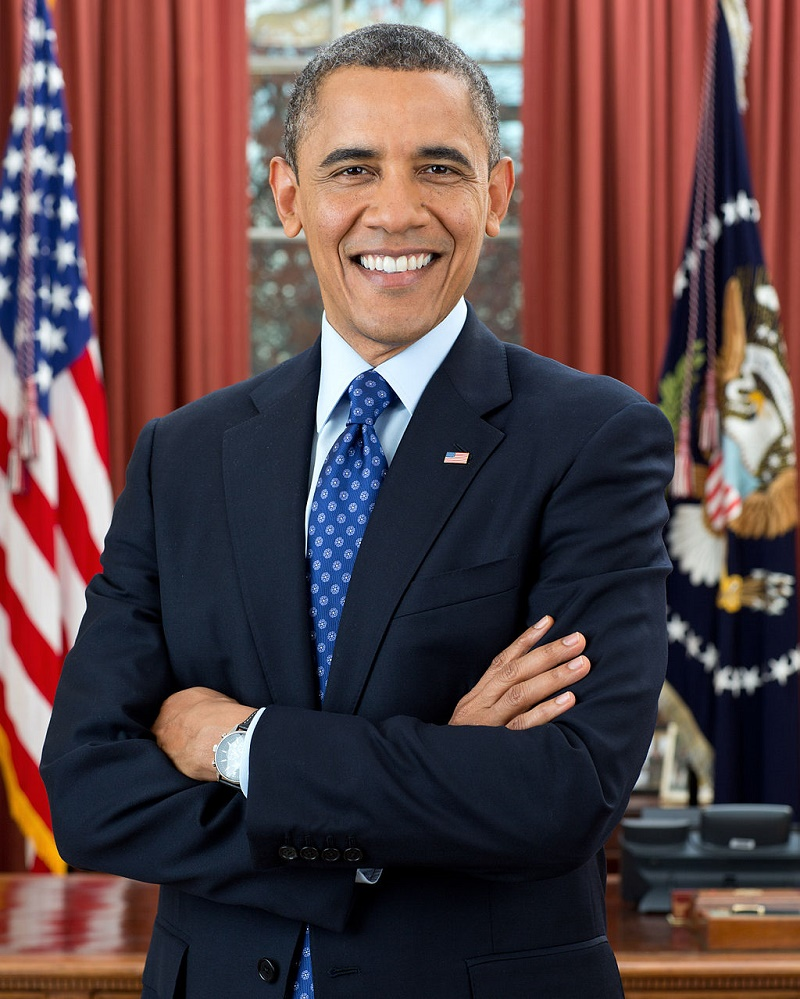 Barack Obama - DR : Pete Souza, Wikimedia Commons