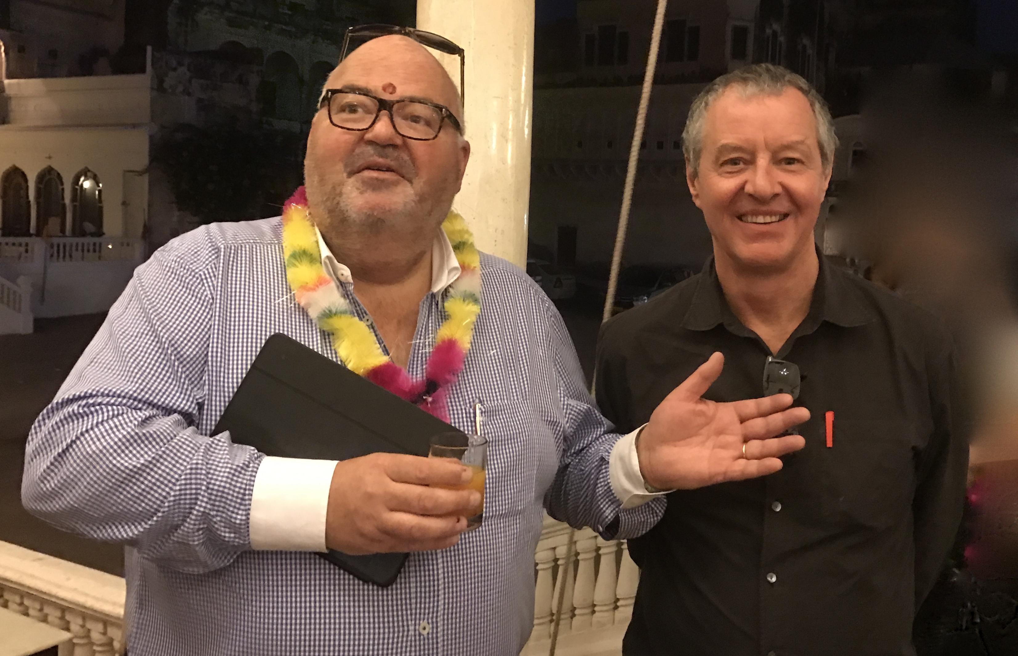Michel Salaün et Philippe Marquenet - Photo JdL