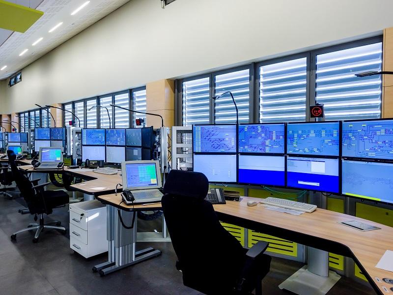 La nouvelle tour de contrôle ferroviaire de Paris Gare de Lyon à Vigneux-sur-Seine - DR : SNCF, Sylvain Cambon