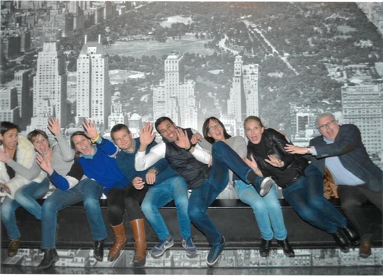 Les agents de voyages ont été sélectionnés par FTI Ticketshop pour un séjour à New York - Photo : FTI Ticketshop