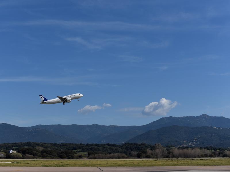Air Corsica a transporté 1 700 000 passagers en 2016 depuis les 16 aéroports français qu'elle dessert. La compagnie veut maintenant attirer les touristes étrangers et ouvrir la Corse vers les aéroports internationaux © DR Air Corsica