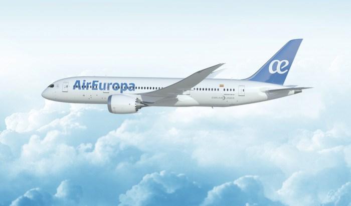 Air Europa se dote d'un second Boeing 787 Dreamliner
