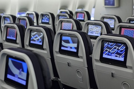 Classe éco : la nouvelle cabine d'Air France - Photo AF