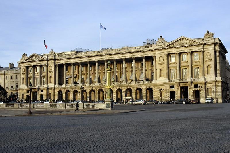 L'Hôtel de Crillon se dote de nouveaux espaces. Réouverture prévue cet été 2017 - DR : Philophopto